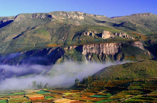 Zdjęcia: Kanion colca, okplice CHIVAY, * * *, PERU