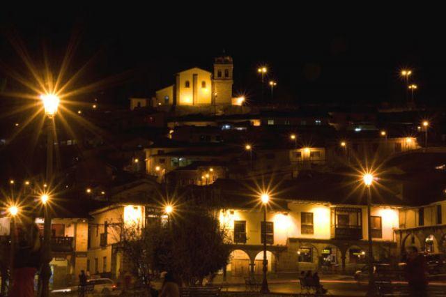 Zdjęcia: CUZCO , Cuzco nocą, PERU
