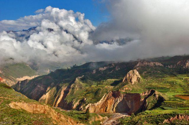 Zdjęcia: Kanion colca, kanion 1, PERU