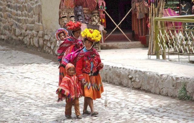 Zdj�cia: PISAC, Dolina Ink�w, Z cyklu kobiety �wiata, PERU