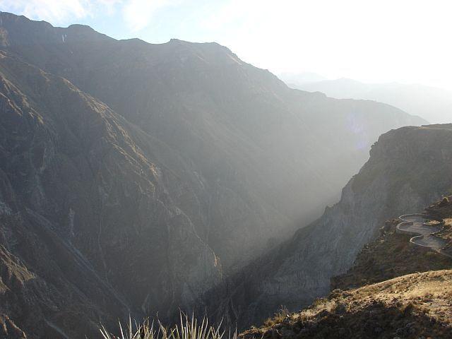 Zdjęcia: Canion Colca, w oczekiwaniu na kondory......:), PERU