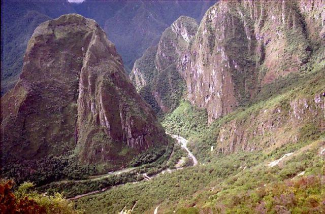 Zdjęcia: Machu Picchu, Droga na Machu Picchu, PERU