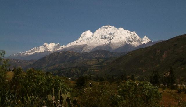 Zdjęcia: Okolice Huaraz, Andy, Kordyliera Biała, Huascaran w pełnej krasie, PERU