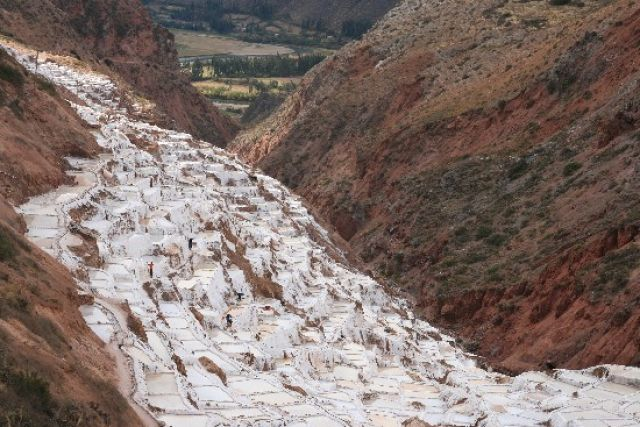 Zdjęcia: maras, okolice cusco, salt mine, PERU