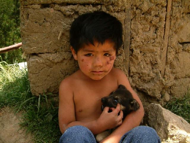 Zdj�cia: Okolice Huaraz, Andy, Kordyliera Czarna, Po kraksie rowerowej?, PERU