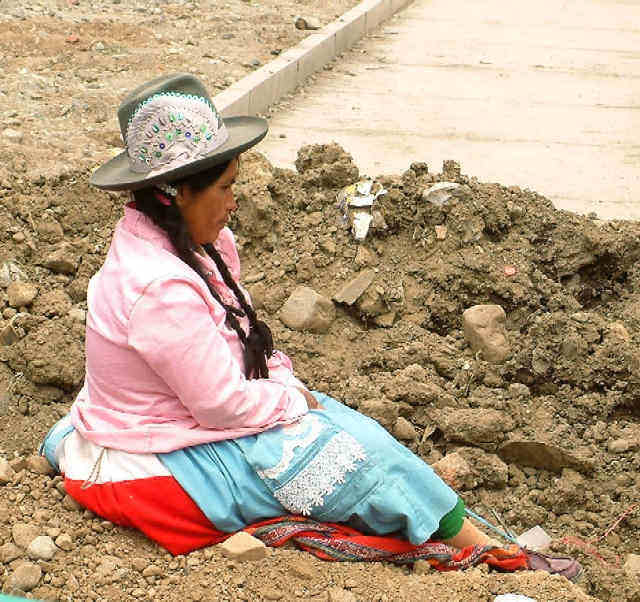 Zdj�cia: Huaraz, Andy, Kordyliera Bia�a, Kapelusz to podstawa, PERU