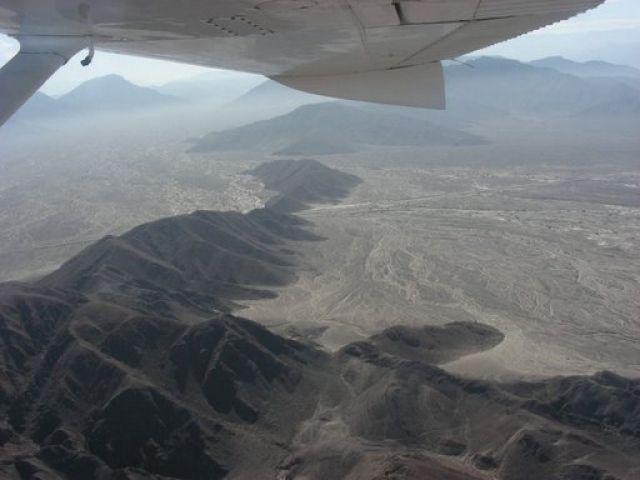 Zdjęcia: Nazca, Nazca, Płaskowyż Nazca - rzut okiem z cessny, PERU