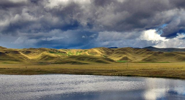 Zdjęcia: przy granicy Peru-Boliwia, W drodze do Boliwi, PERU