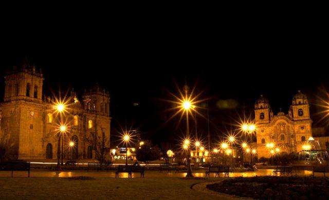 Zdjęcia: CUZCO, Cuzco nocą 2, PERU