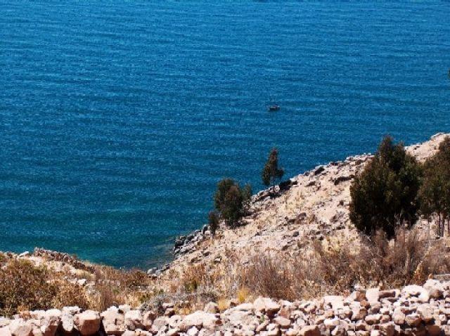 Zdjęcia: Jezioro Titicaca, Altiplano, Wybrzeże Wyspy Taquile, PERU