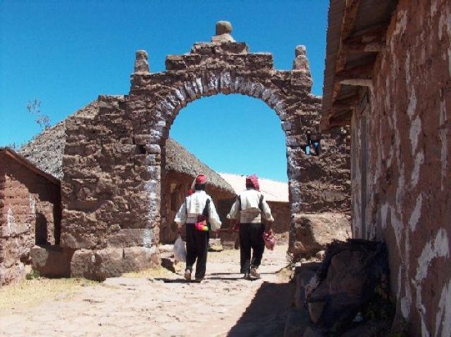 Zdjęcia: Jezioro Titicaca, Altiplano, Miasteczko Taquile, PERU