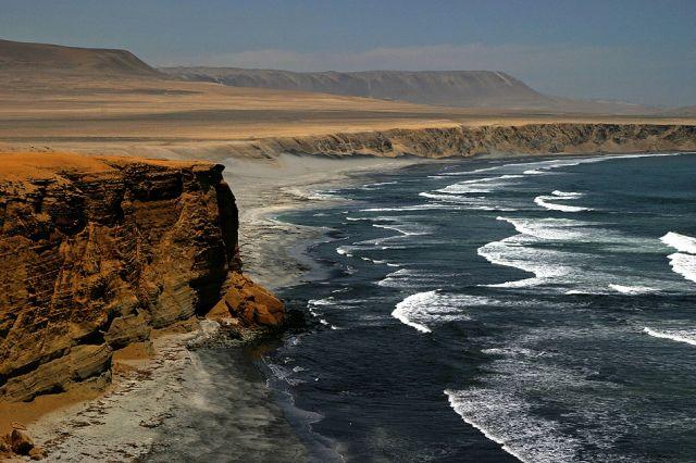 Zdjęcia: Wybrzeże w pobliżu Pisco, Widoczek 1, PERU