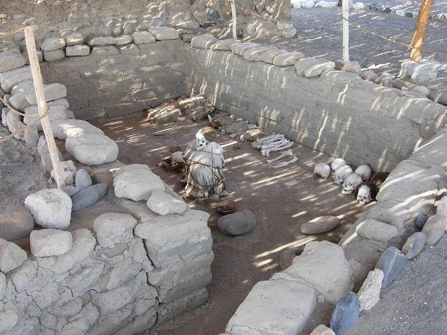Zdjęcia: Nasca, Cementerio de Chauchilla na płaskowyżu Nasca, PERU