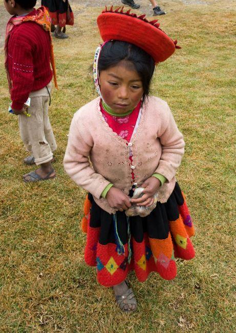 Zdjęcia: Willoq, Cusco, Dzieci w szkole we wiosce Willoq, PERU