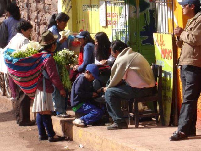 Zdjęcia: Cusco, Dworzec Santiago, PERU
