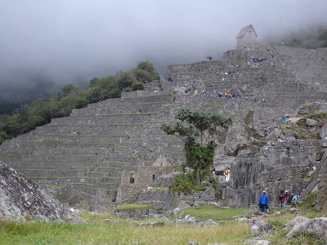Zdj�cia: Machu Picchu, W ruinach Machu Picchu, PERU