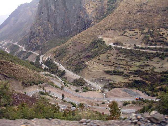 Zdj�cia: droga z Cusco do Santa Teresa, W drodze z Cusco do Santa Teresa, PERU