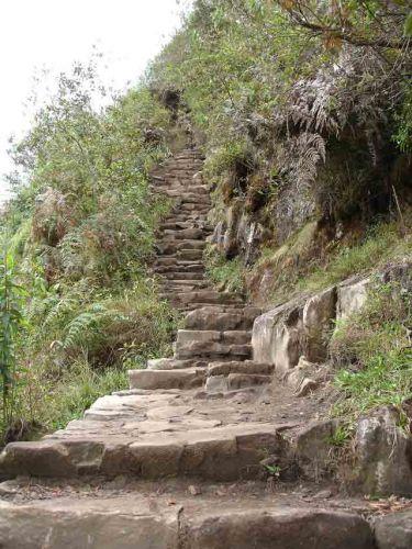 Zdjęcia: Machu Picchu, Droga na Wayna Picchu, PERU