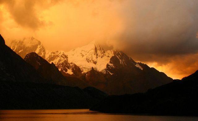 Zdjęcia: cordillera huayhuash, jezioro siula, PERU