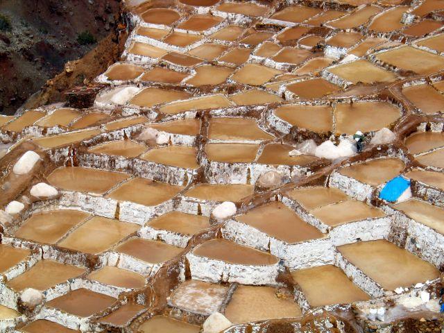 Zdjęcia: Salineras, okolice Cusco, Solanki ..., PERU