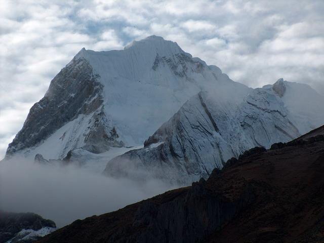 Zdjęcia: Dolina rzeki Achin, Cordillera Huayhuash, Drugi szczyt Peru - Yerupaja (6634m), PERU
