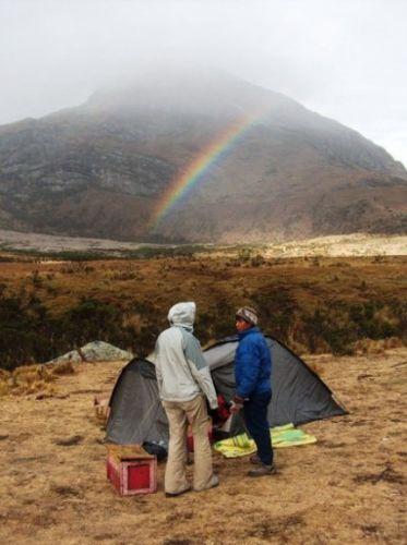 Zdjęcia: Dolina Santa Cruz, Cordillera Blanca, Obóz u podnóża Alpamayo, PERU