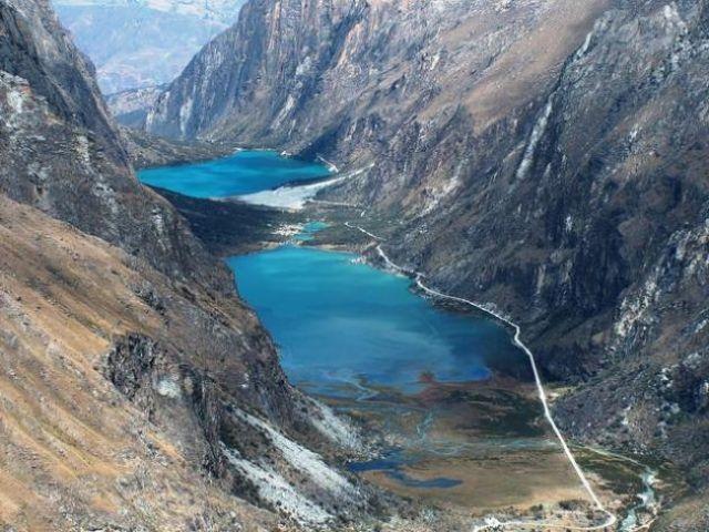 Zdjęcia: Dolina Llanganuco, Cordillera Blanca, Jezioro Llanganuco, PERU