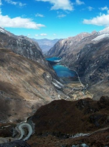 Zdj�cia: Dolina Llanganuco, Cordillera Blanca, Dolina Llanganuco, PERU