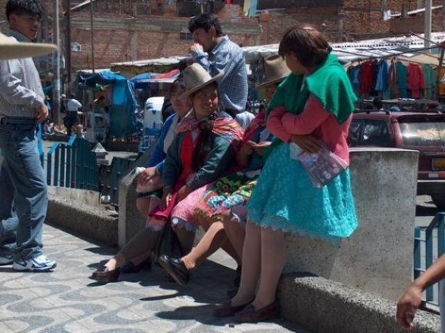 Zdjęcia: Huaraz, Cordillera Blanca, Na targowisku, PERU