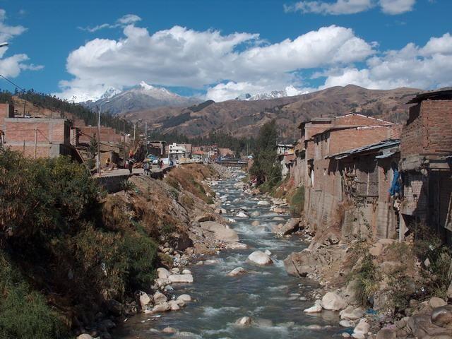 Zdjęcia: Huaraz, Cordillera Blanca, Huaraz - brama do Cordillery Blanci, PERU