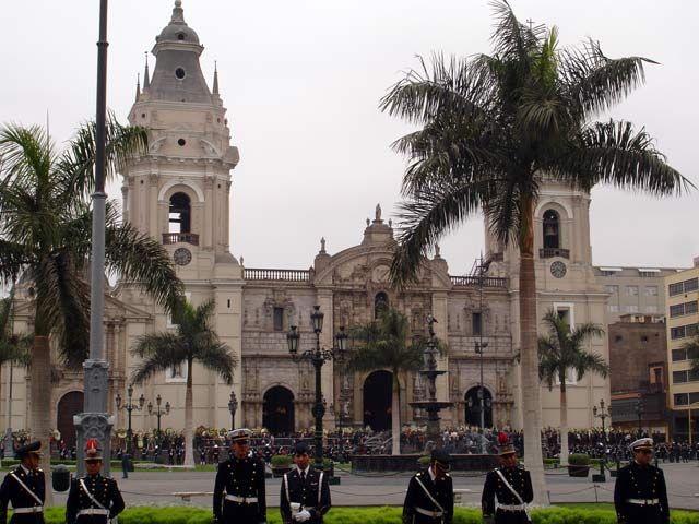 Zdjęcia: Lima, Plaza de Armas, PERU