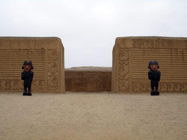 Zdjęcia: Trujillo, Ruiny Chan Chan - kompleks Tschudi, PERU