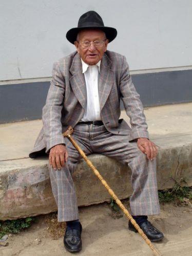Zdjęcia: Huaraz, Mieszkaniec Huaraz, PERU