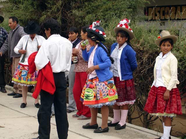 Zdj�cia: Huaraz, Uliczna fiesta, PERU