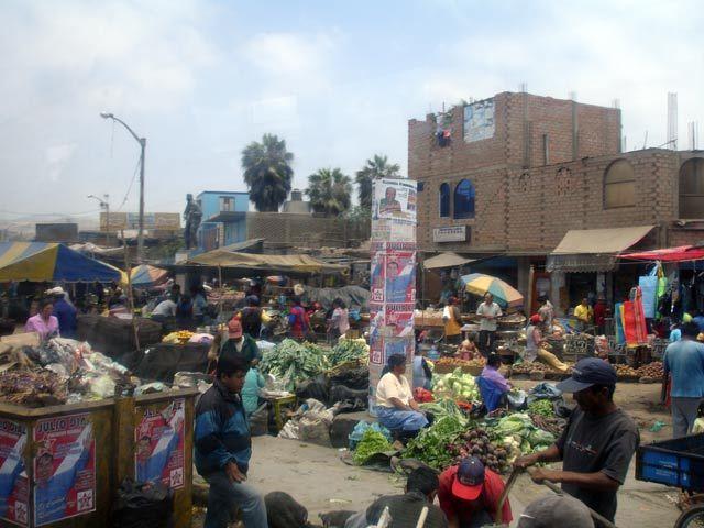 Zdjęcia: Chimbote, Targowisko, PERU
