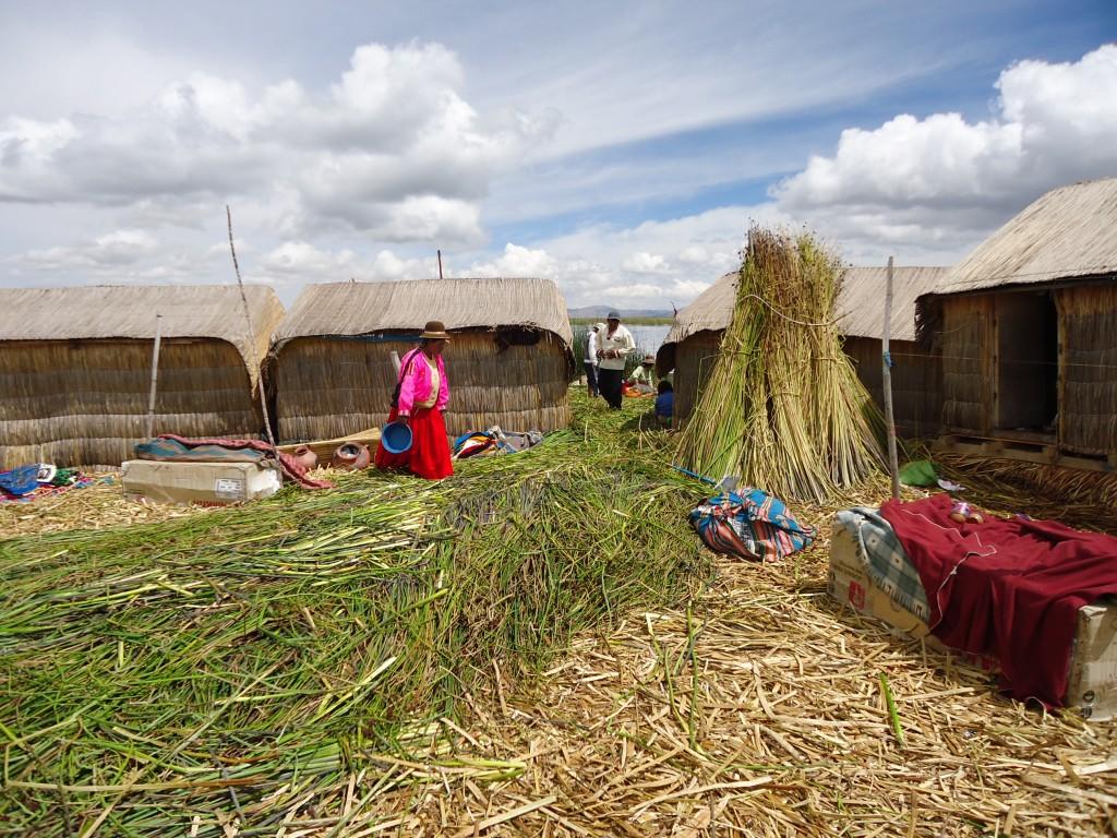 Zdjęcia: Wyspy Uros, Puno, Kolorowe Uros, PERU