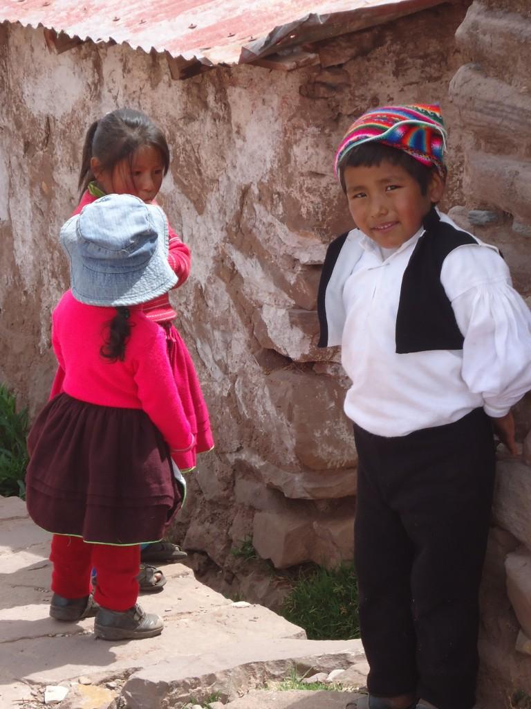 Zdjęcia: Wyspa Taquile (Titikaka), Puno, Indianie na Taquile, PERU