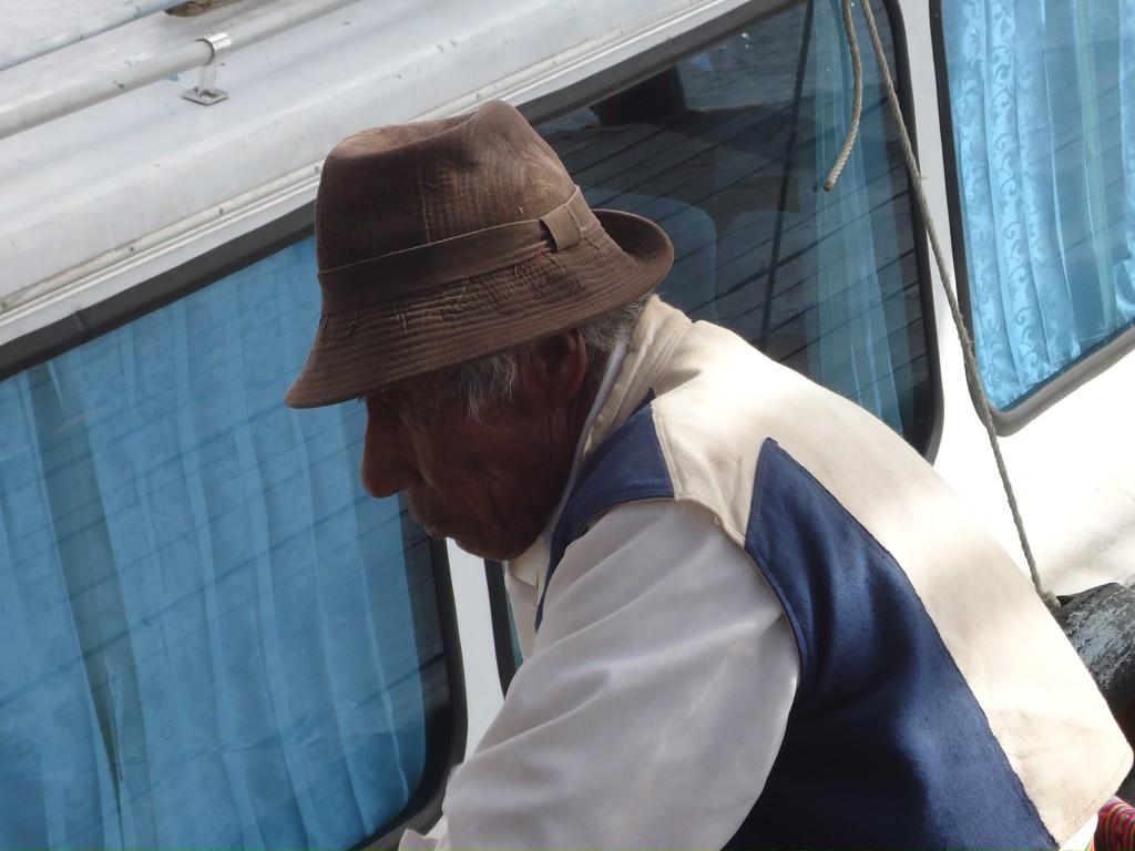 Zdjęcia: Wyspa Taquile (Titikaka), Puno, Ciekawy profil ...., PERU