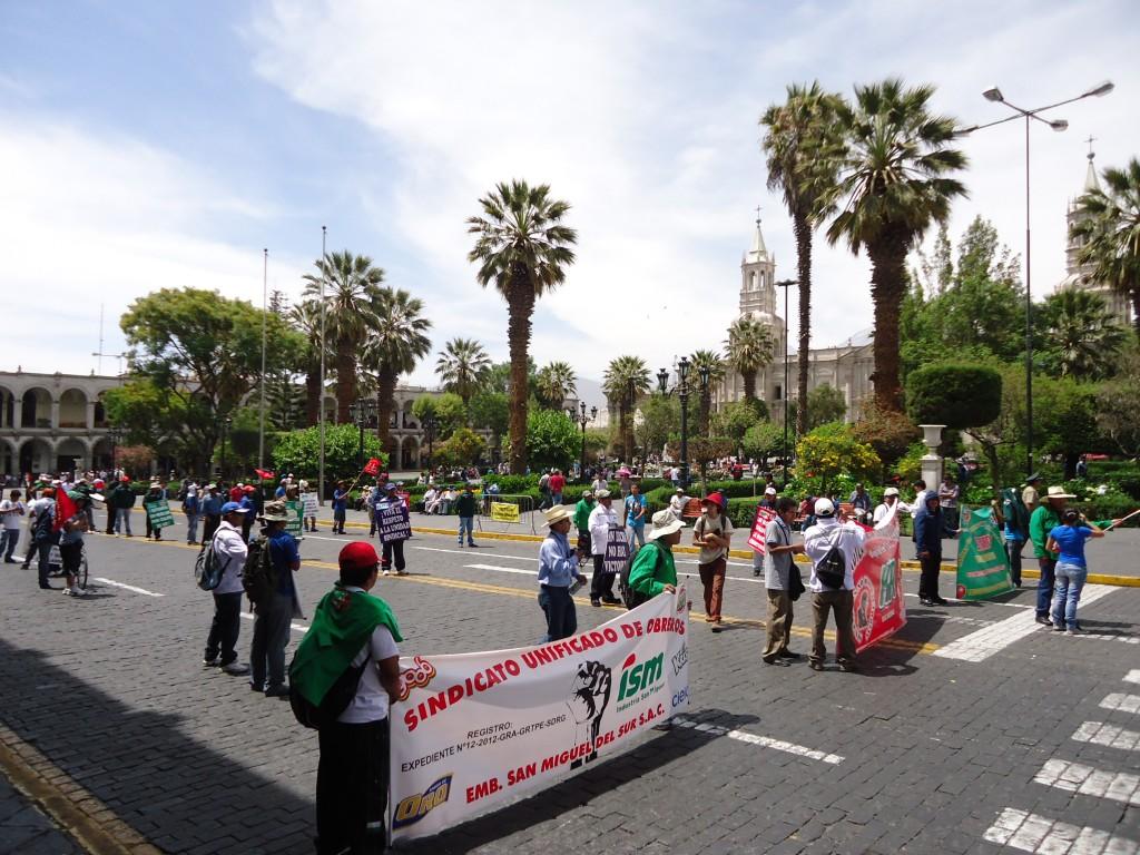 Zdjęcia: Arequipa, Arequipa, Demonstracja, PERU