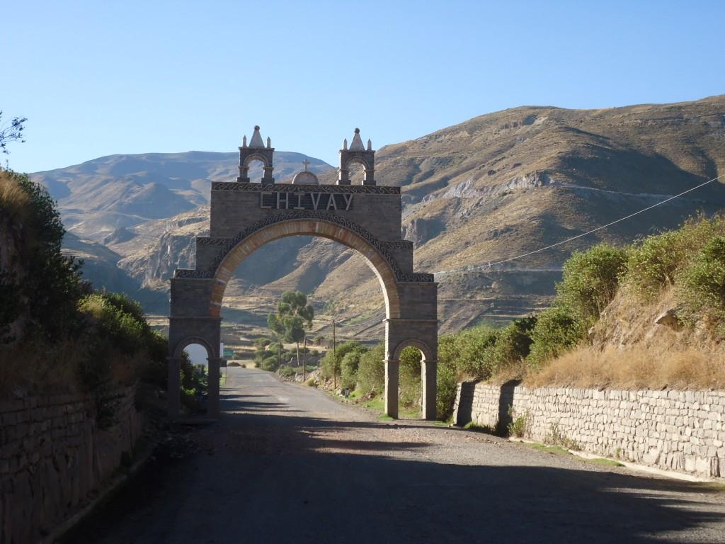 Zdjęcia: Chivay, Arequipa, Początek Kanionu Colca, PERU