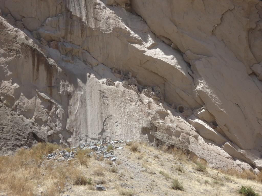 Zdjęcia: okolice Chivay, Arequipa, Tumbas Choquetico, PERU