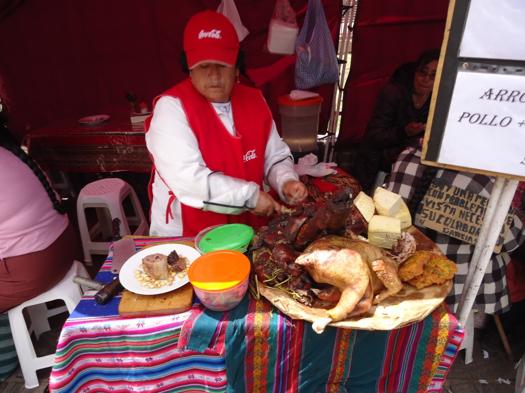 Zdjęcia: Cuzco, Cuzco, Pieczona świnka morska ...., PERU