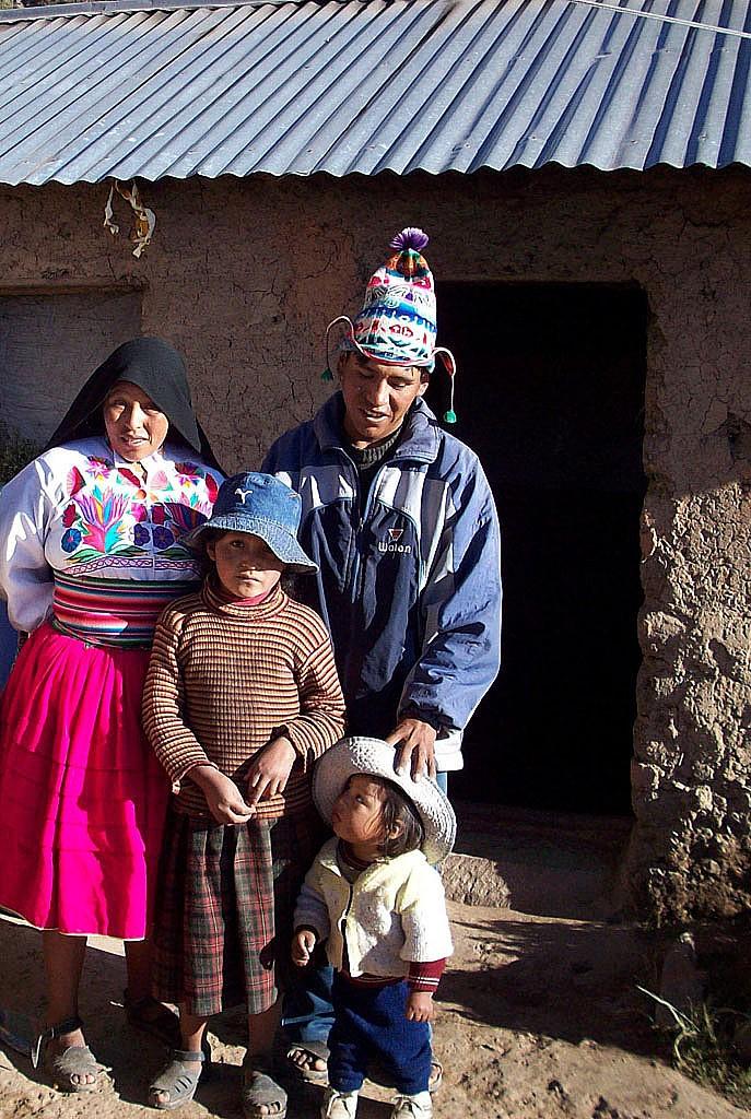 Zdjęcia: Wyspa Amantani, Jez.Titicaca, Gościnni Aymara, PERU