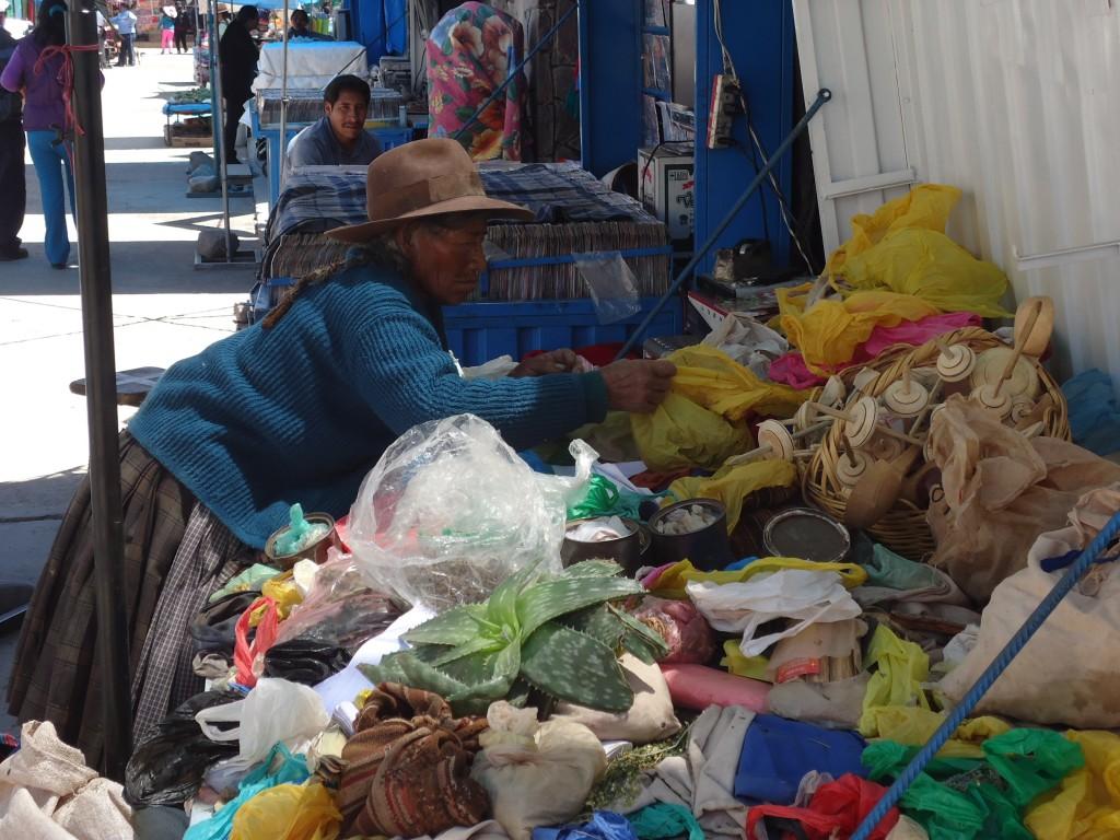 Zdjęcia: Chivay, Arequipa, Na targu, PERU