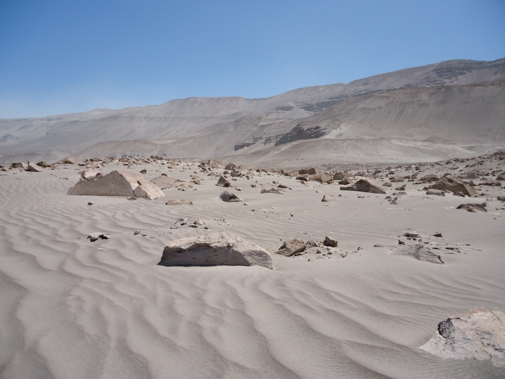 Zdjęcia: okolice Corire, Arequipa, Toro Muerto - krajobraz księżycowy, PERU