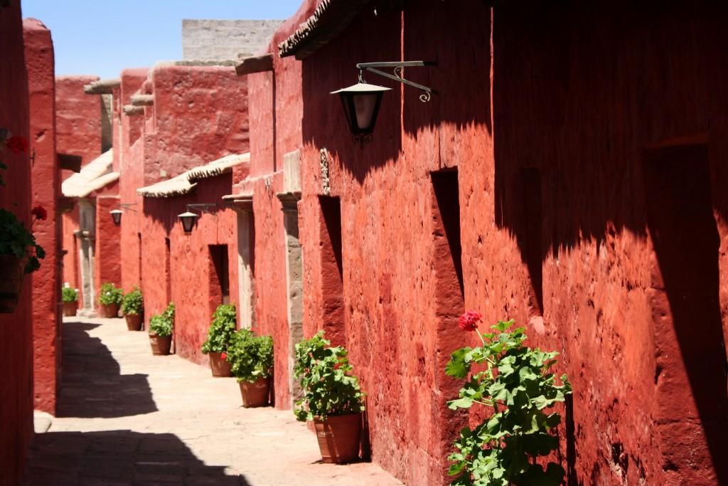 Zdjęcia: Klasztor Św.Katarzyny, Arequipa, Klasztorna uliczka, PERU