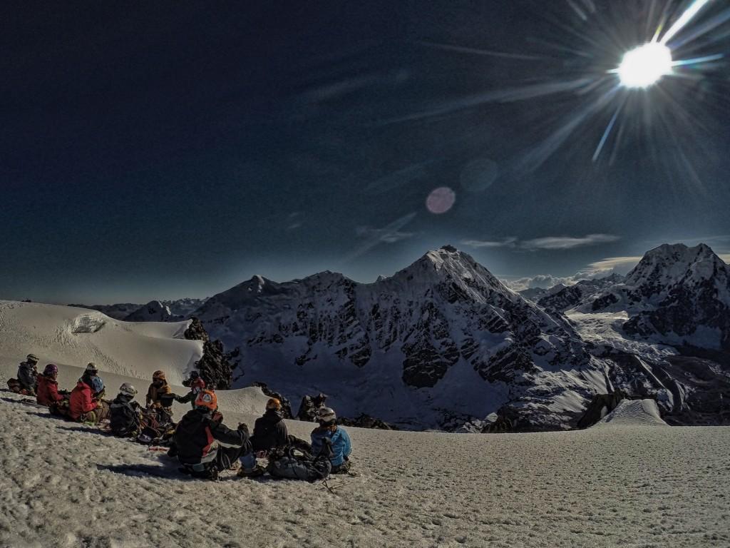 Zdjęcia: Cordillera Vilcanota, Cusco, Na szczycie Campa 5500 m np.m., PERU