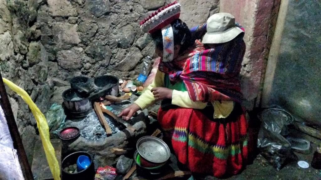 Zdjęcia: Huacahuasi, Cusco, Gotowanie w andyjskiej wiosce, PERU