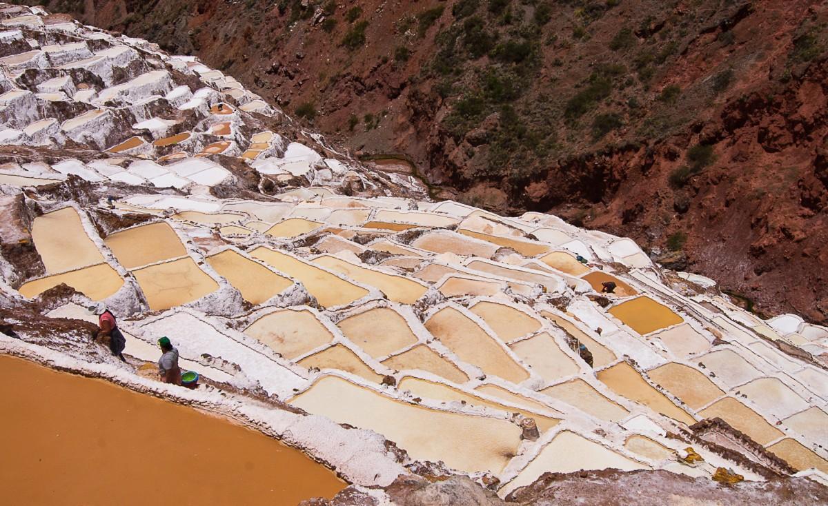 Zdjęcia: Okolice Maras, Święta Dolina Inków, Saliners de Maras, PERU