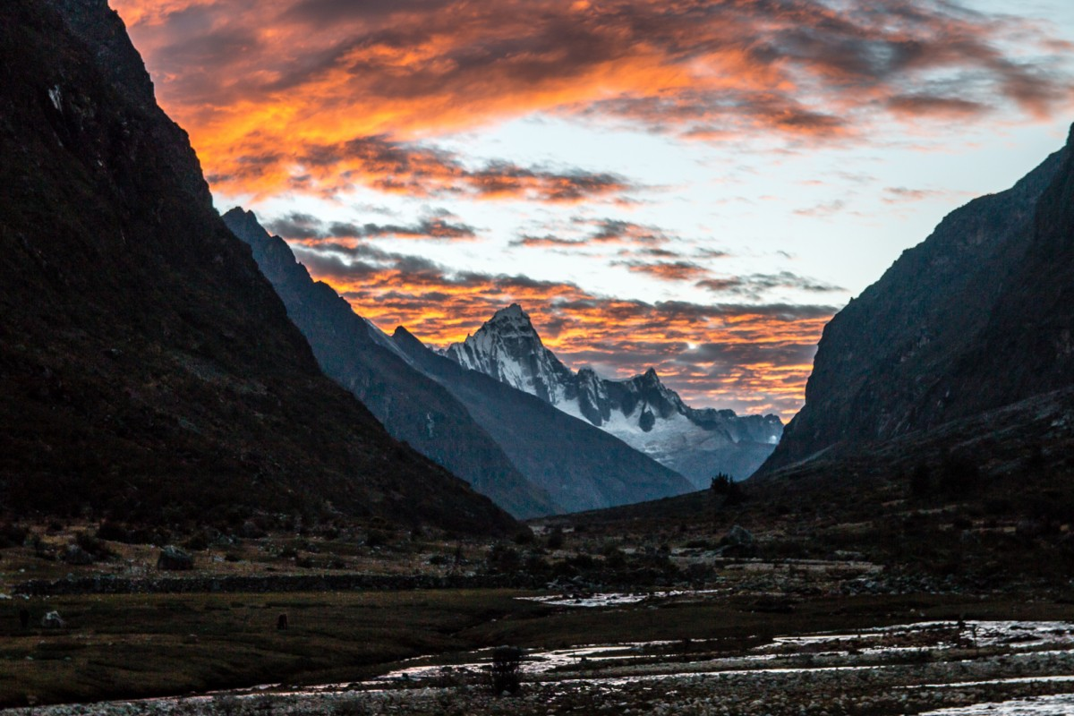 Zdjęcia: Cordillera Blanca, Cordillera Blanca, treking Santa Cruz, PERU